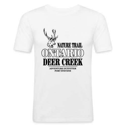 Ontario Deer - Männer Slim Fit T-Shirt