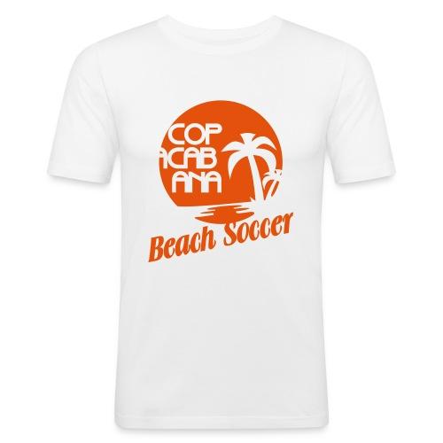 Copacabana Beach Soccer - Männer Slim Fit T-Shirt
