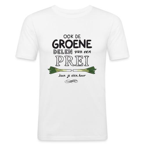Prei - Mannen slim fit T-shirt