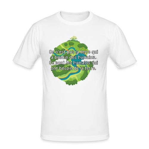 our earth - Men's Slim Fit T-Shirt
