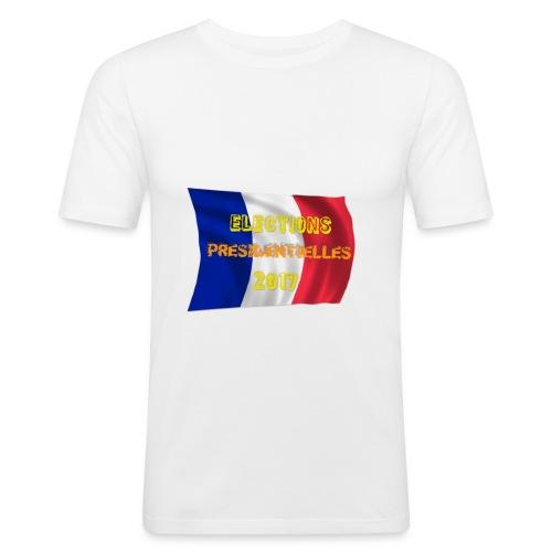 ELECTIONS 2017 - T-shirt près du corps Homme