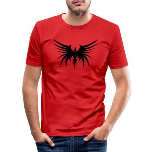 Phoenix Noir - T-shirt près du corps Homme