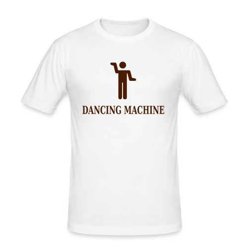 dancing_machine - Herre Slim Fit T-Shirt