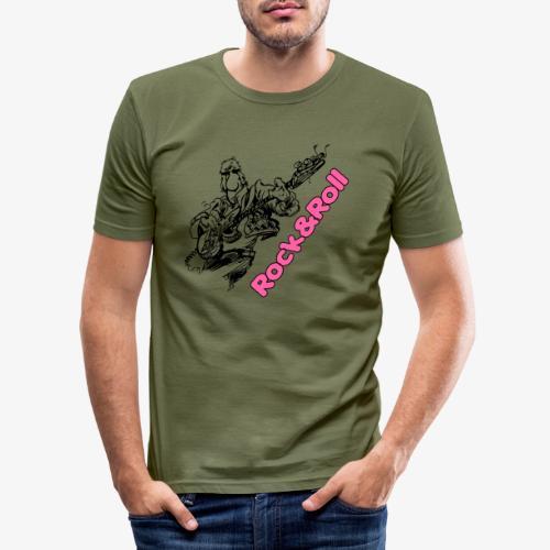 Rock 001 - Camiseta ajustada hombre