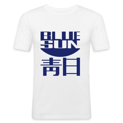blue sun - Men's Slim Fit T-Shirt