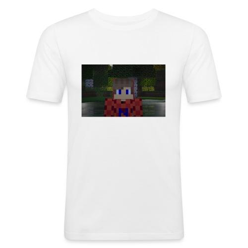 Mein Minecraft-Skin - Männer Slim Fit T-Shirt