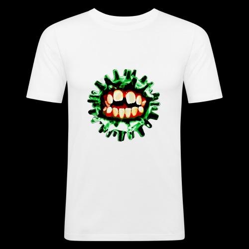 VIRUS (vert) - T-shirt près du corps Homme