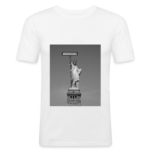 NYC MOBSTER.jpg - T-shirt près du corps Homme