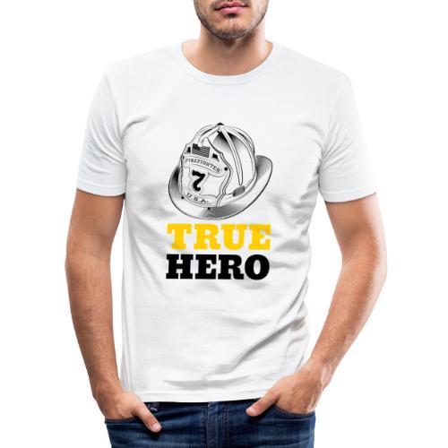 True Hero - Männer Slim Fit T-Shirt