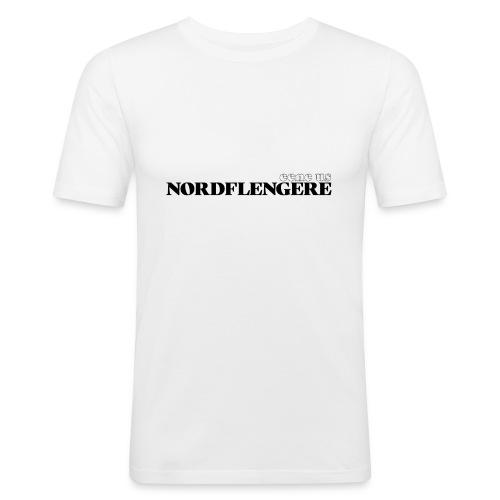 Een eus Nordflengere - Männer Slim Fit T-Shirt