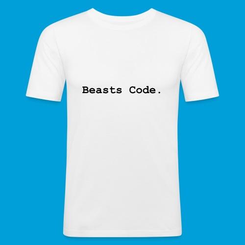 Beasts Code. - Men's Slim Fit T-Shirt
