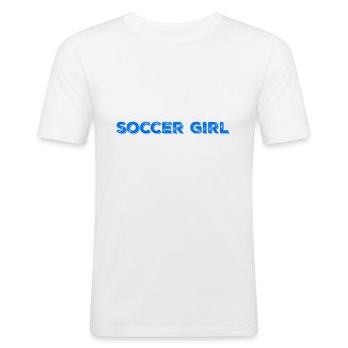 Soccer Girl Hoodie - Men's Slim Fit T-Shirt