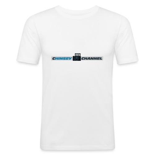 Drinkbeker - Mannen slim fit T-shirt