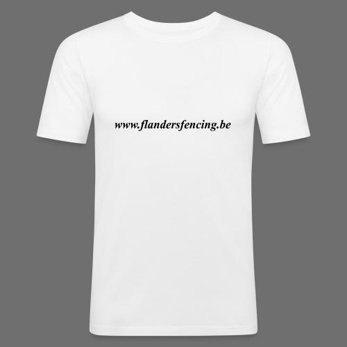 wwww.flandersfencing.be - Mannen slim fit T-shirt
