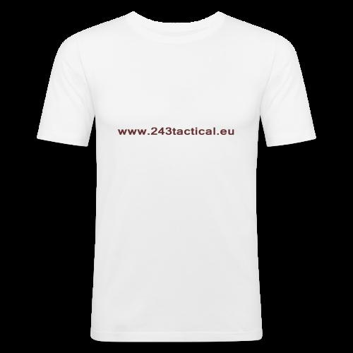 .243 Tactical Website - slim fit T-shirt