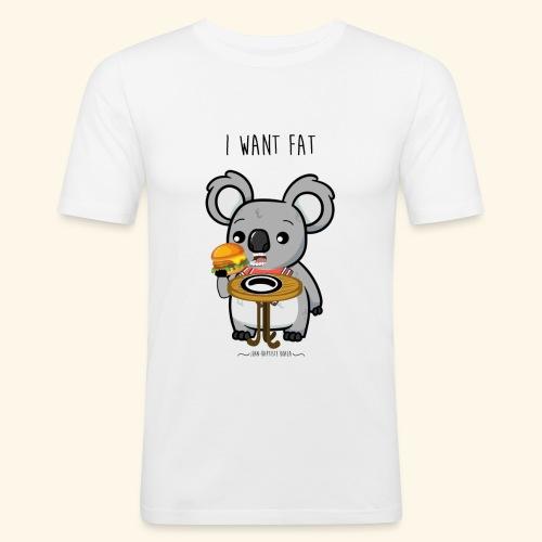 i want fate - T-shirt près du corps Homme