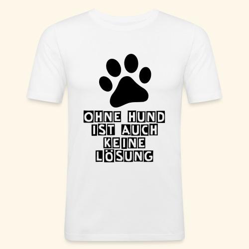 Accessoires für Hundefreunde - Männer Slim Fit T-Shirt