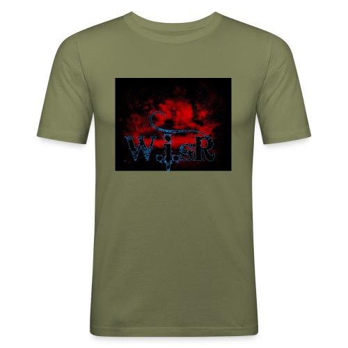 WISR Huppari - Miesten tyköistuva t-paita