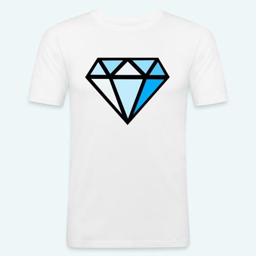 FCTimantti logo ilman tekstia - Miesten tyköistuva t-paita