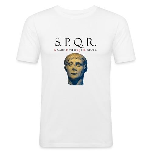 SPQR LUNAR Jacken & Westen - Männer Slim Fit T-Shirt