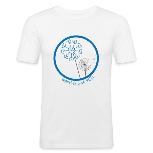 Pusteblume-PCD-1 - Männer Slim Fit T-Shirt