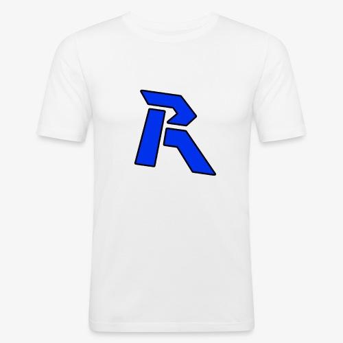 Rainkz Logo Pullover - Männer Slim Fit T-Shirt