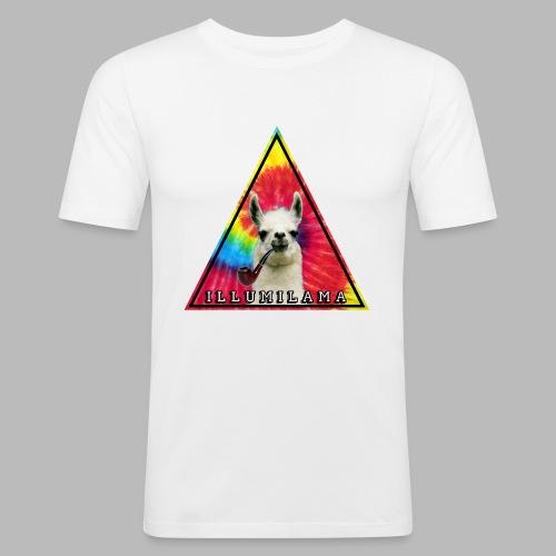 Illumilama logo T-shirt - Men's Slim Fit T-Shirt