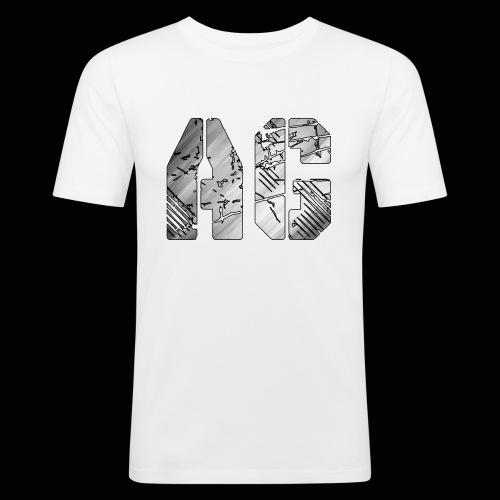 AG logo - Men's Slim Fit T-Shirt