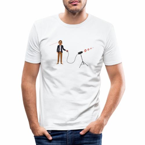 Stupid GeekContestWinner - Männer Slim Fit T-Shirt