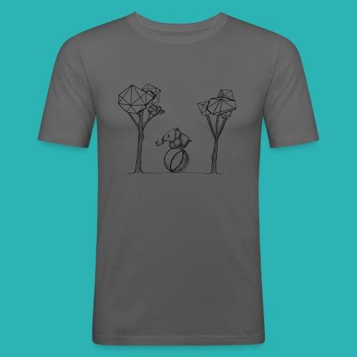 Rotolare_o_capitombolare-01-png - Maglietta aderente da uomo