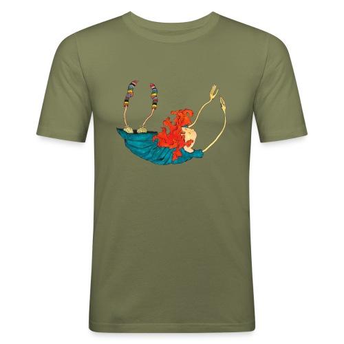 Frit fald - Herre Slim Fit T-Shirt