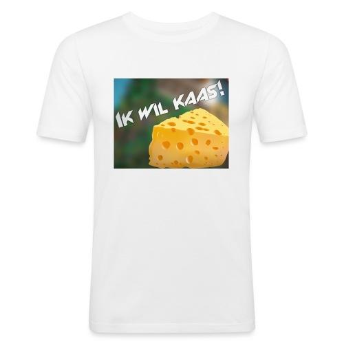 DeGeldigeKaas Merchandise - Mannen slim fit T-shirt
