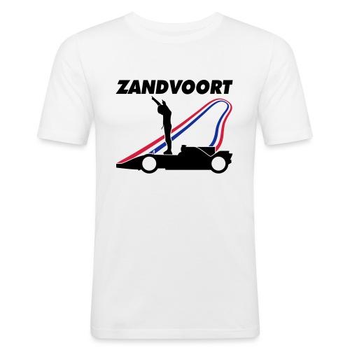 Zandvoort rood wit blauw - Mannen slim fit T-shirt