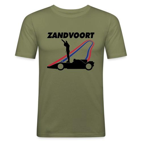 Zandvoort rood wit blauw - slim fit T-shirt