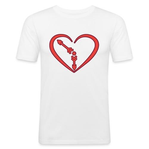 01WALENTY2021 1 - Obcisła koszulka męska