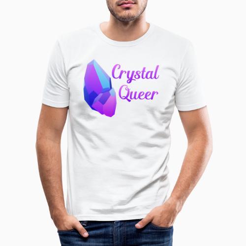 Crystal Queer - Men's Slim Fit T-Shirt
