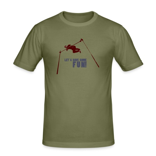 Let s have some FUN - Mannen slim fit T-shirt