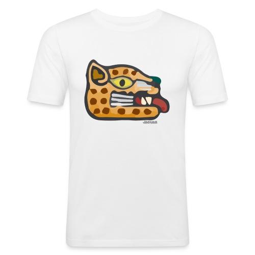 Aztec Icon Jaguar - Men's Slim Fit T-Shirt