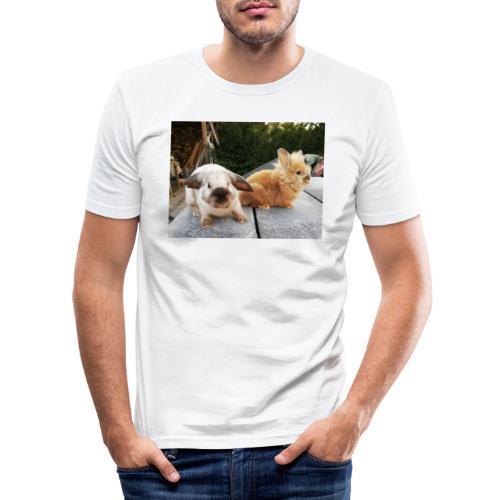 Nouche en Ninou - Mannen slim fit T-shirt