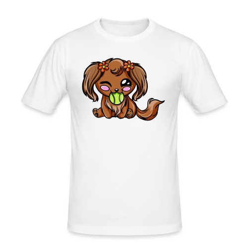 Puppy Dog Kawaii - T-shirt près du corps Homme