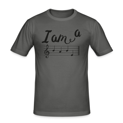 ImABabe - Mannen slim fit T-shirt