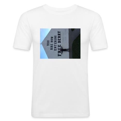 free derry - Men's Slim Fit T-Shirt