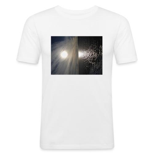 i phone 6/6s cover elastik med solnedgang - Herre Slim Fit T-Shirt