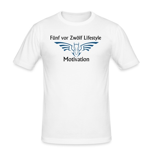 lifestyle Kaputzenpulli - Männer Slim Fit T-Shirt