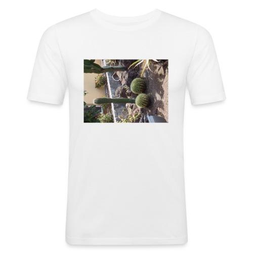 spicy cactus - Camiseta ajustada hombre