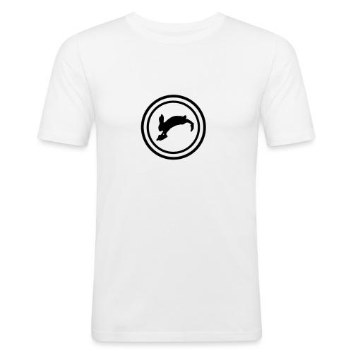Bunny_Black2 - Herre Slim Fit T-Shirt