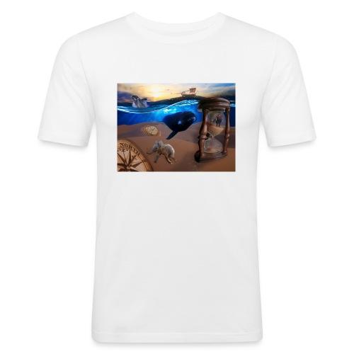 Wodne Przemyślenia - Obcisła koszulka męska