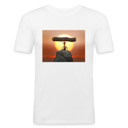 formica-innamorata_jpeg - Maglietta aderente da uomo