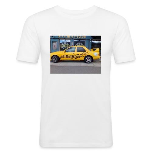 Napapiirin sankarit auto - Miesten tyköistuva t-paita