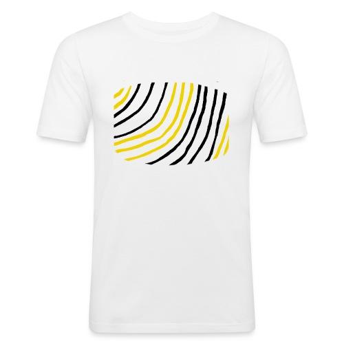 Raidat - Miesten tyköistuva t-paita